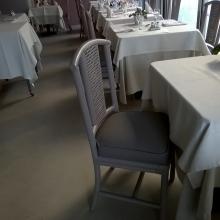 sedie rifatte Hotel dei Fiori Alassio
